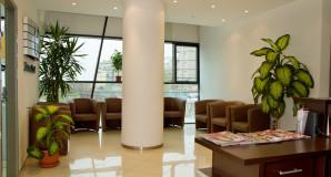 Sală așteptare clinica stomatologică